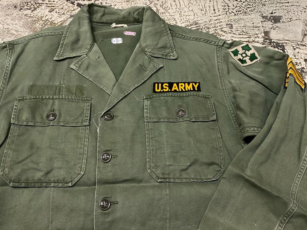 11月14日(土)マグネッツ大阪店スーペリア入荷日!!#7 U.S.Army Part1編!! 1950\'s~70\'s OG107 UtilityShirt!!_c0078587_12450928.jpg