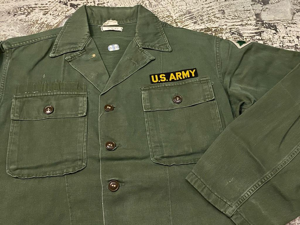 11月14日(土)マグネッツ大阪店スーペリア入荷日!!#7 U.S.Army Part1編!! 1950\'s~70\'s OG107 UtilityShirt!!_c0078587_12451878.jpg