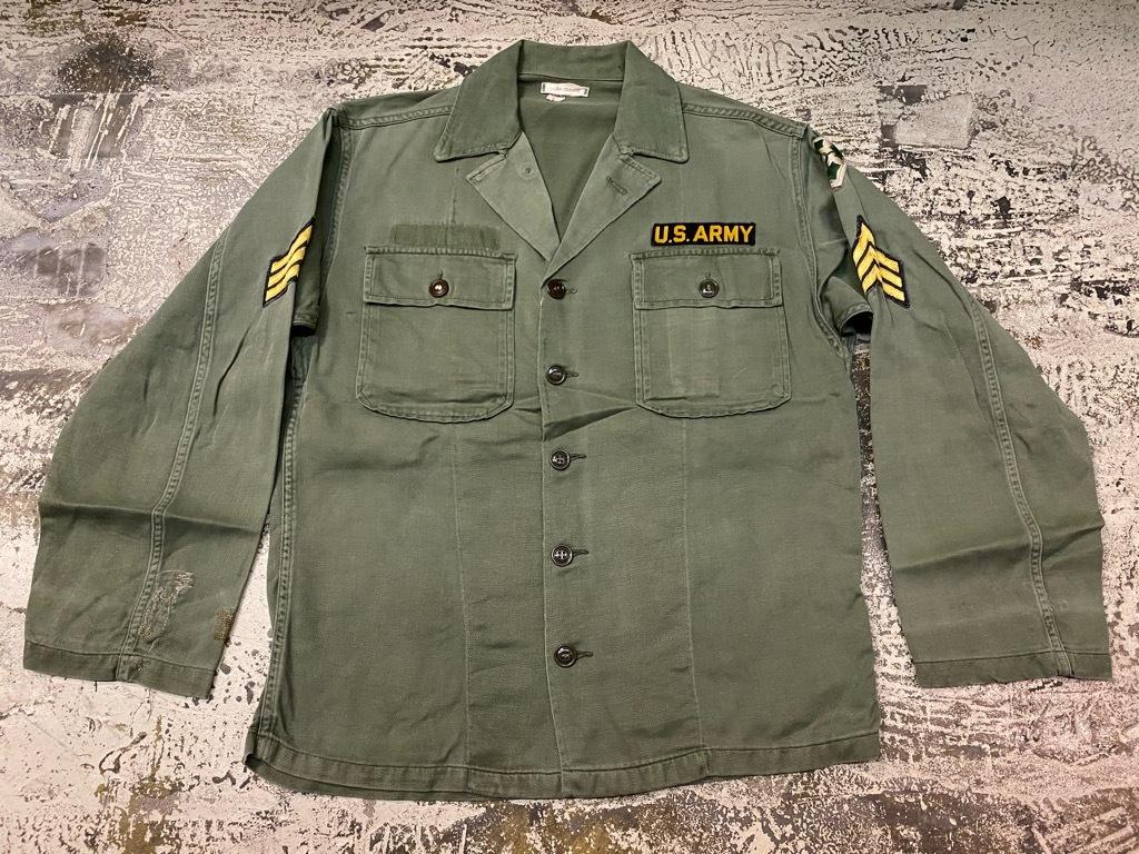 11月14日(土)マグネッツ大阪店スーペリア入荷日!!#7 U.S.Army Part1編!! 1950\'s~70\'s OG107 UtilityShirt!!_c0078587_12471760.jpg