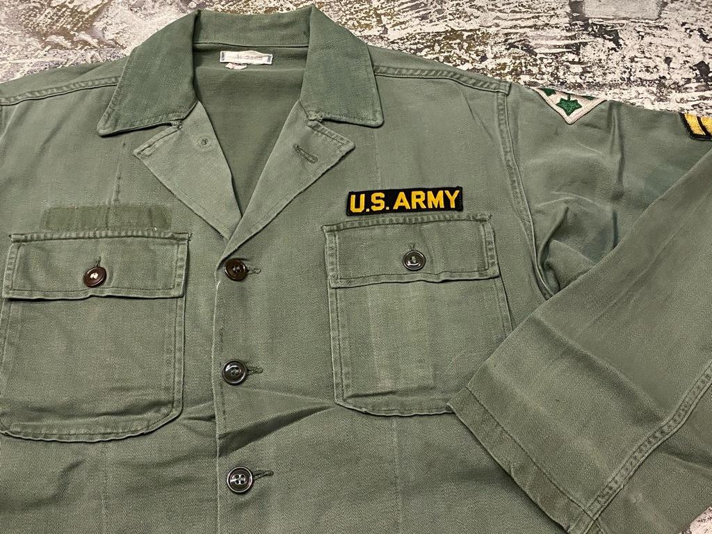 11月14日(土)マグネッツ大阪店スーペリア入荷日!!#7 U.S.Army Part1編!! 1950\'s~70\'s OG107 UtilityShirt!!_c0078587_12471843.jpg