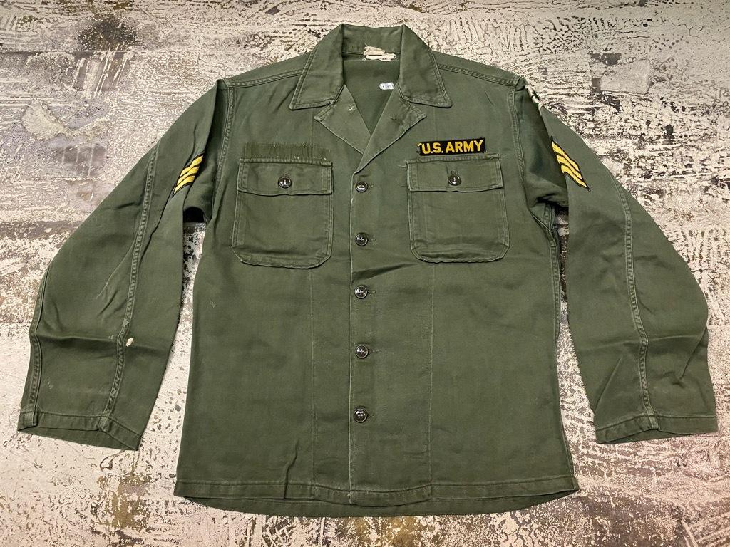 11月14日(土)マグネッツ大阪店スーペリア入荷日!!#7 U.S.Army Part1編!! 1950\'s~70\'s OG107 UtilityShirt!!_c0078587_12472526.jpg