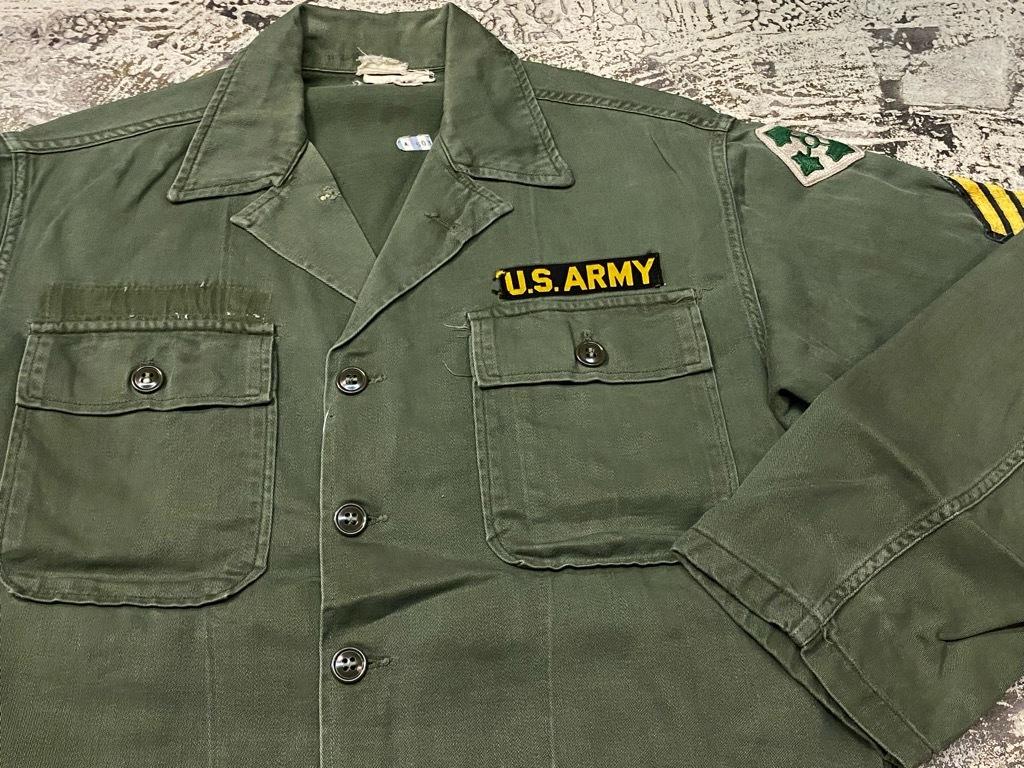 11月14日(土)マグネッツ大阪店スーペリア入荷日!!#7 U.S.Army Part1編!! 1950\'s~70\'s OG107 UtilityShirt!!_c0078587_12472783.jpg