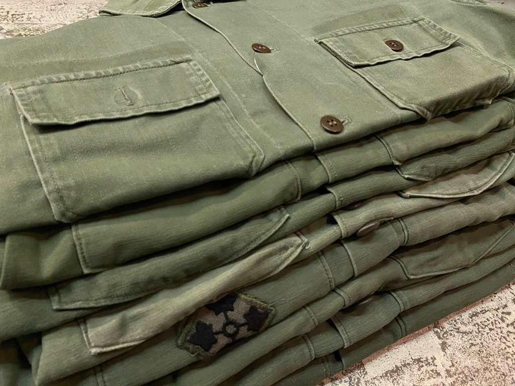 11月14日(土)マグネッツ大阪店スーペリア入荷日!!#7 U.S.Army Part1編!! 1950\'s~70\'s OG107 UtilityShirt!!_c0078587_12515975.jpg