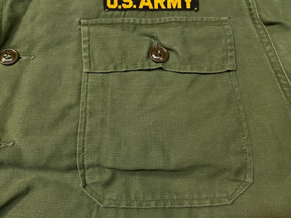 11月14日(土)マグネッツ大阪店スーペリア入荷日!!#7 U.S.Army Part1編!! 1950\'s~70\'s OG107 UtilityShirt!!_c0078587_12530100.jpg