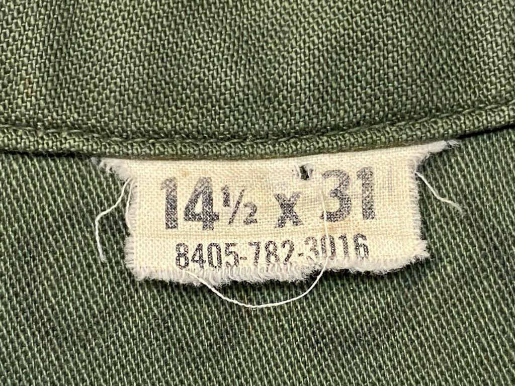 11月14日(土)マグネッツ大阪店スーペリア入荷日!!#7 U.S.Army Part1編!! 1950\'s~70\'s OG107 UtilityShirt!!_c0078587_12550477.jpg