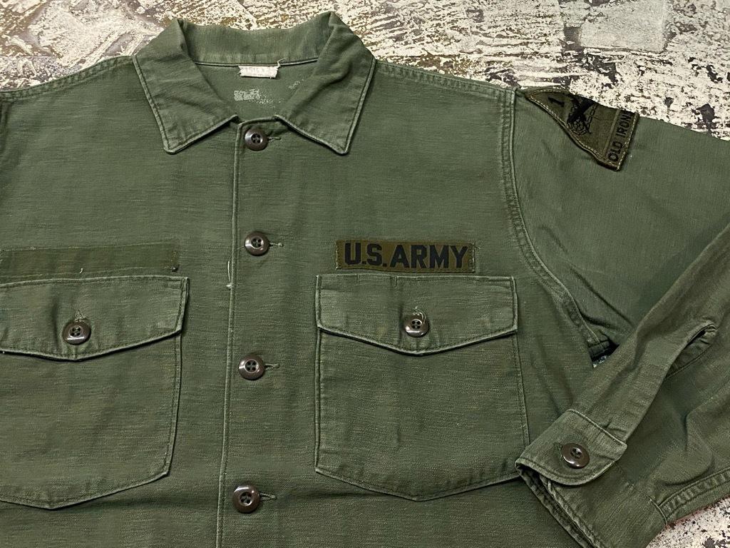 11月14日(土)マグネッツ大阪店スーペリア入荷日!!#7 U.S.Army Part1編!! 1950\'s~70\'s OG107 UtilityShirt!!_c0078587_12551322.jpg