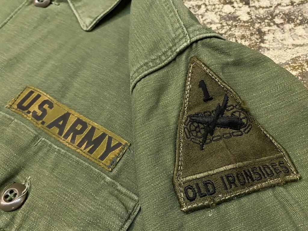11月14日(土)マグネッツ大阪店スーペリア入荷日!!#7 U.S.Army Part1編!! 1950\'s~70\'s OG107 UtilityShirt!!_c0078587_12552015.jpg