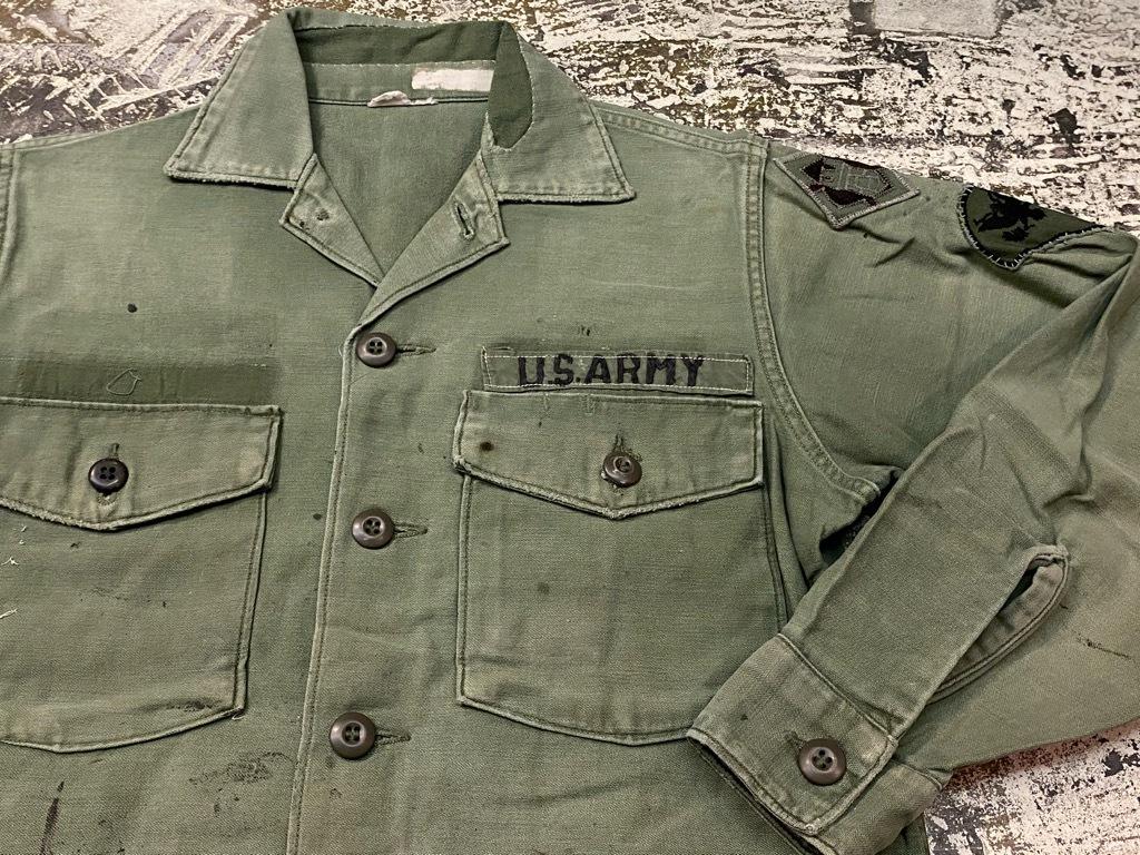 11月14日(土)マグネッツ大阪店スーペリア入荷日!!#7 U.S.Army Part1編!! 1950\'s~70\'s OG107 UtilityShirt!!_c0078587_12552678.jpg