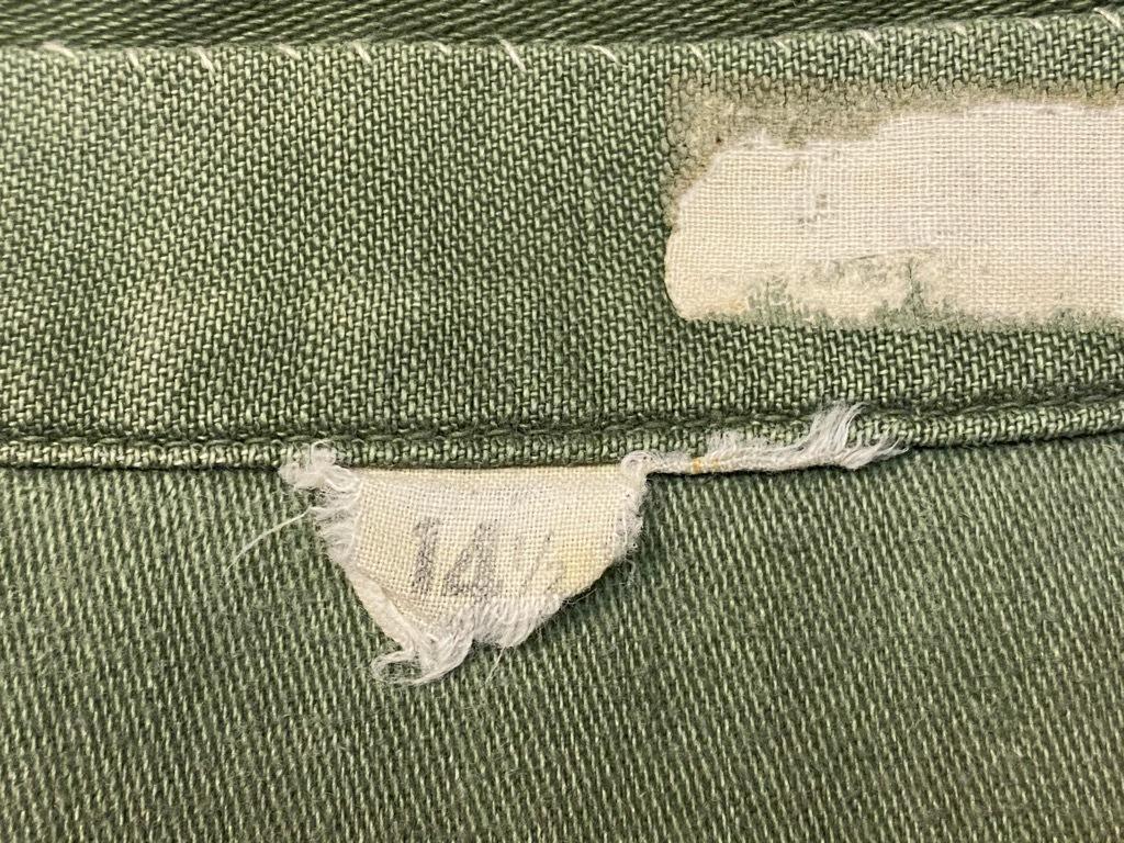 11月14日(土)マグネッツ大阪店スーペリア入荷日!!#7 U.S.Army Part1編!! 1950\'s~70\'s OG107 UtilityShirt!!_c0078587_12552812.jpg