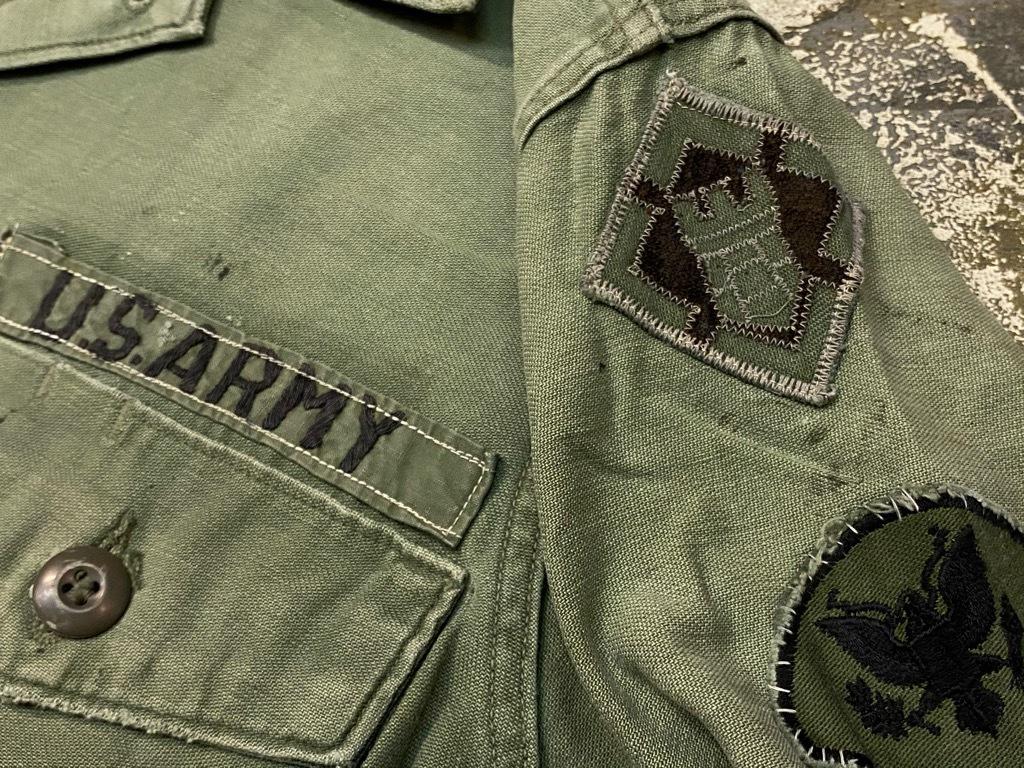 11月14日(土)マグネッツ大阪店スーペリア入荷日!!#7 U.S.Army Part1編!! 1950\'s~70\'s OG107 UtilityShirt!!_c0078587_12553046.jpg