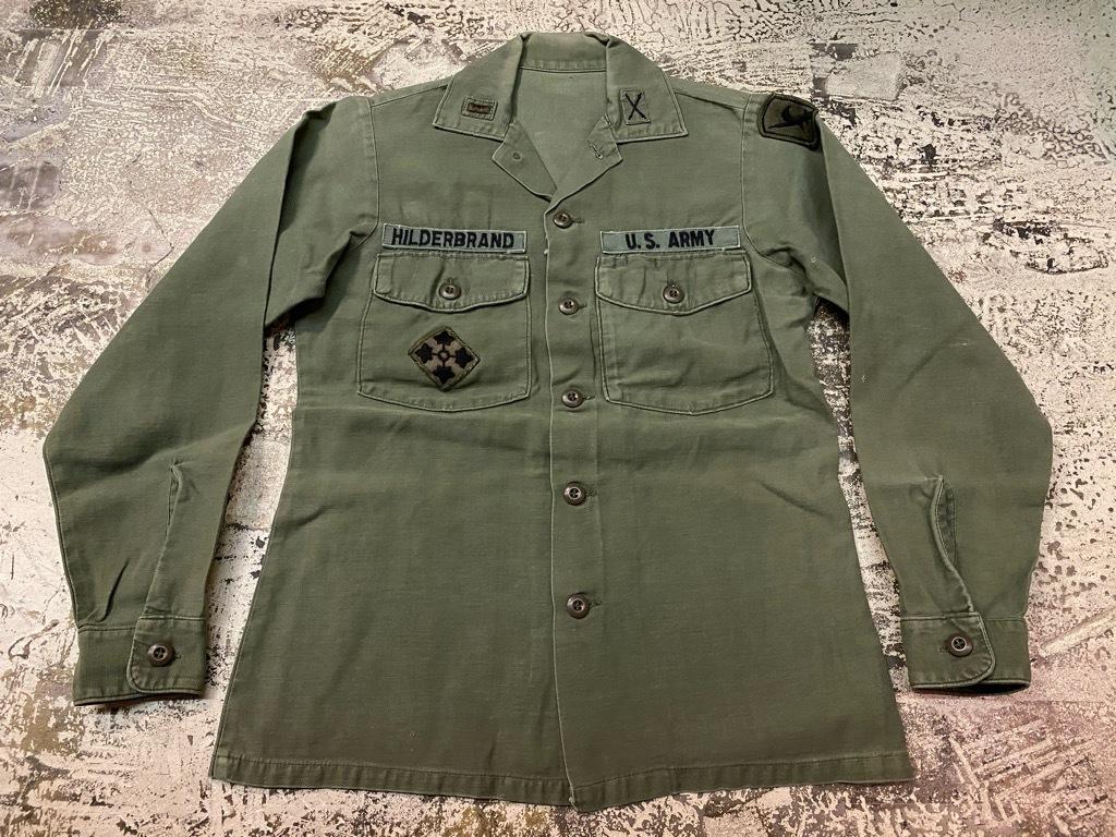 11月14日(土)マグネッツ大阪店スーペリア入荷日!!#7 U.S.Army Part1編!! 1950\'s~70\'s OG107 UtilityShirt!!_c0078587_12553536.jpg