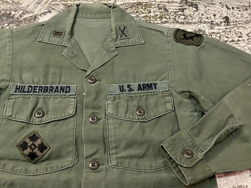11月14日(土)マグネッツ大阪店スーペリア入荷日!!#7 U.S.Army Part1編!! 1950\'s~70\'s OG107 UtilityShirt!!_c0078587_12553776.jpg