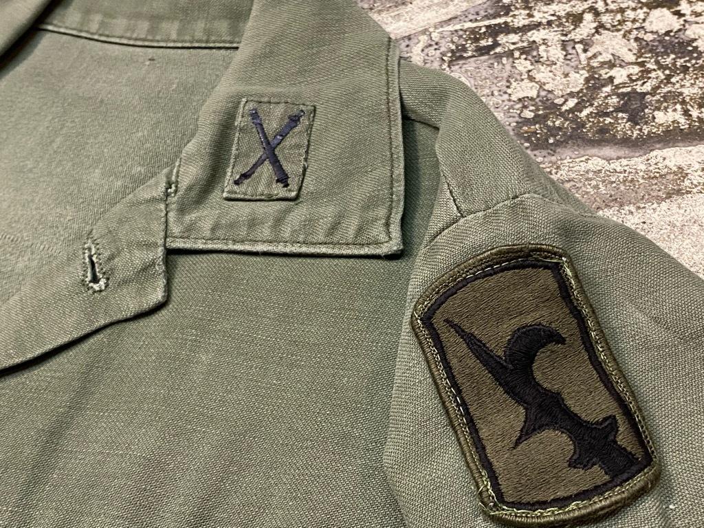 11月14日(土)マグネッツ大阪店スーペリア入荷日!!#7 U.S.Army Part1編!! 1950\'s~70\'s OG107 UtilityShirt!!_c0078587_12554191.jpg