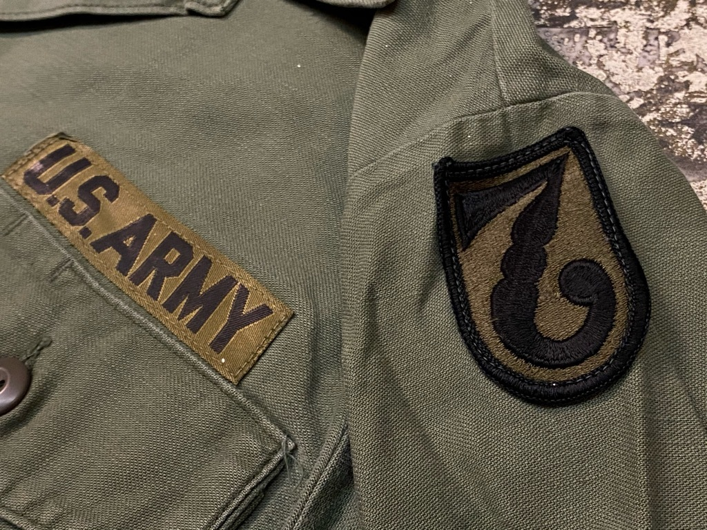 11月14日(土)マグネッツ大阪店スーペリア入荷日!!#7 U.S.Army Part1編!! 1950\'s~70\'s OG107 UtilityShirt!!_c0078587_12555430.jpg