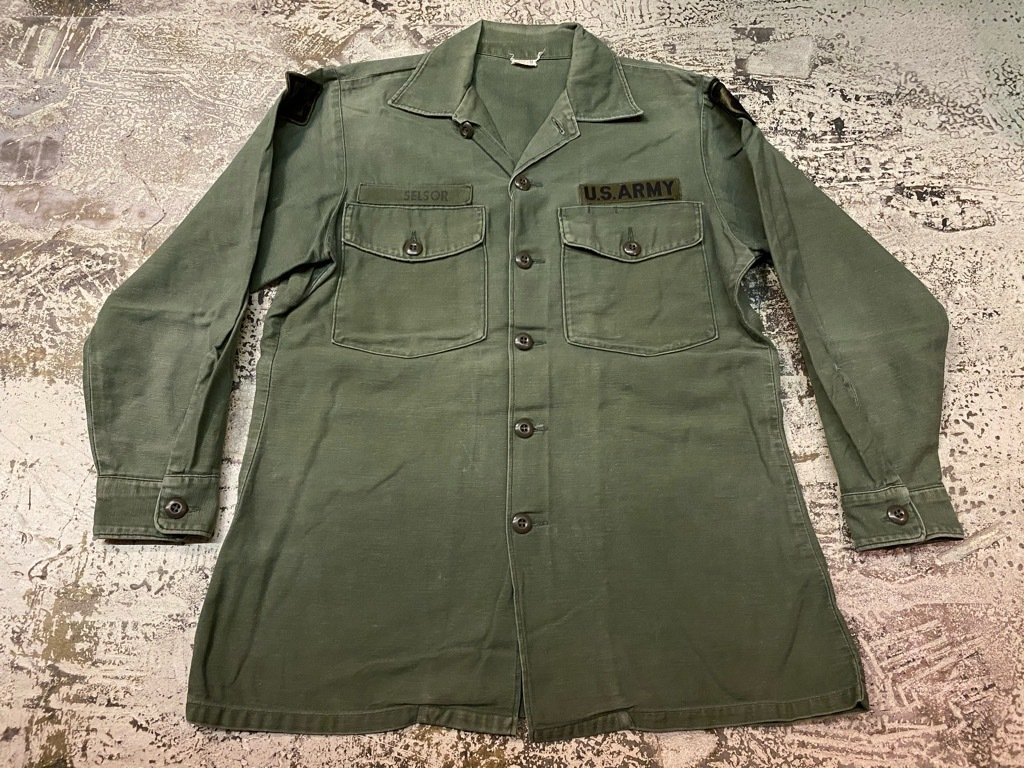 11月14日(土)マグネッツ大阪店スーペリア入荷日!!#7 U.S.Army Part1編!! 1950\'s~70\'s OG107 UtilityShirt!!_c0078587_12555754.jpg