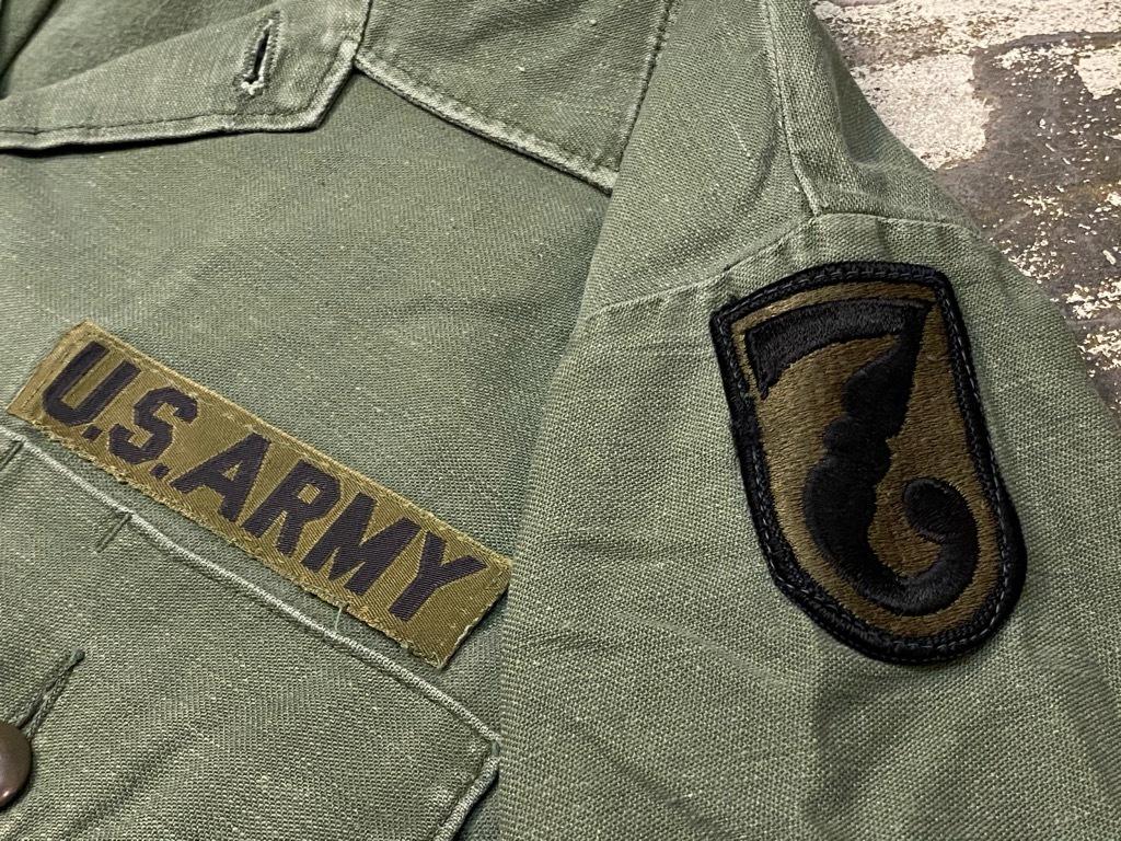 11月14日(土)マグネッツ大阪店スーペリア入荷日!!#7 U.S.Army Part1編!! 1950\'s~70\'s OG107 UtilityShirt!!_c0078587_12560200.jpg