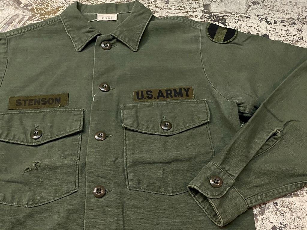 11月14日(土)マグネッツ大阪店スーペリア入荷日!!#7 U.S.Army Part1編!! 1950\'s~70\'s OG107 UtilityShirt!!_c0078587_12560833.jpg