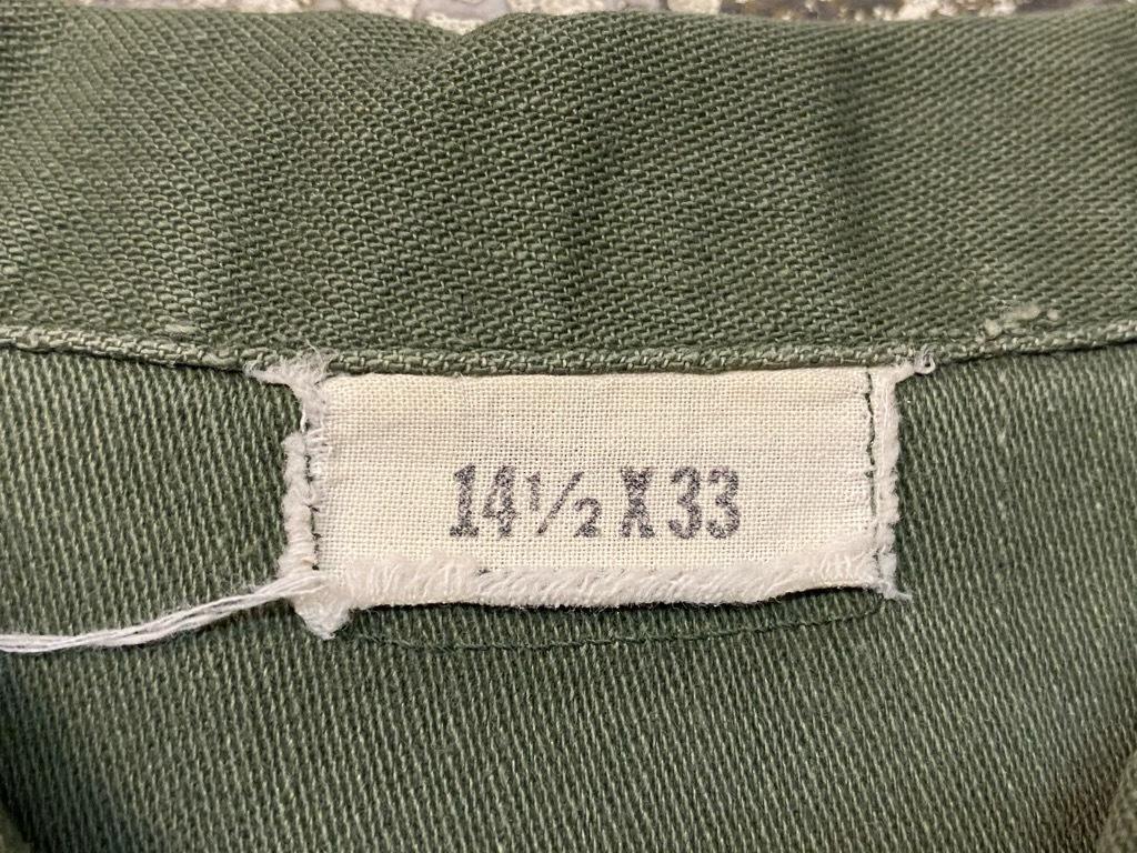 11月14日(土)マグネッツ大阪店スーペリア入荷日!!#7 U.S.Army Part1編!! 1950\'s~70\'s OG107 UtilityShirt!!_c0078587_12560984.jpg