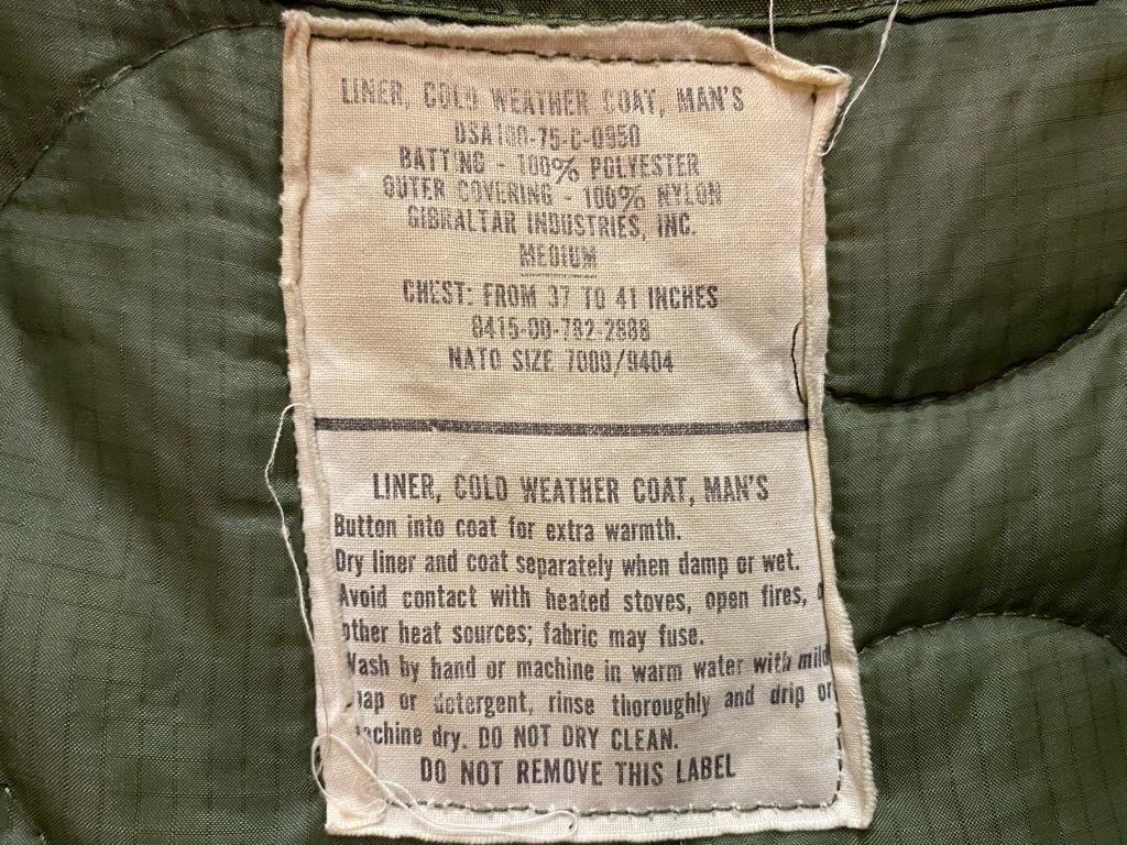 11月14日(土)マグネッツ大阪店スーペリア入荷日!!#8 U.S.Army Part2編!! M-65 FieldJkt2nd,M-65TigerStripe,M-65 FieldPants!!_c0078587_13170636.jpg