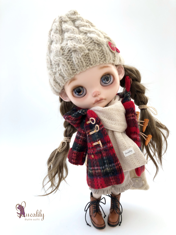 *lucalily * dolls clothes* Stewart Royal Duffle Coat Set *_d0217189_22583381.jpeg