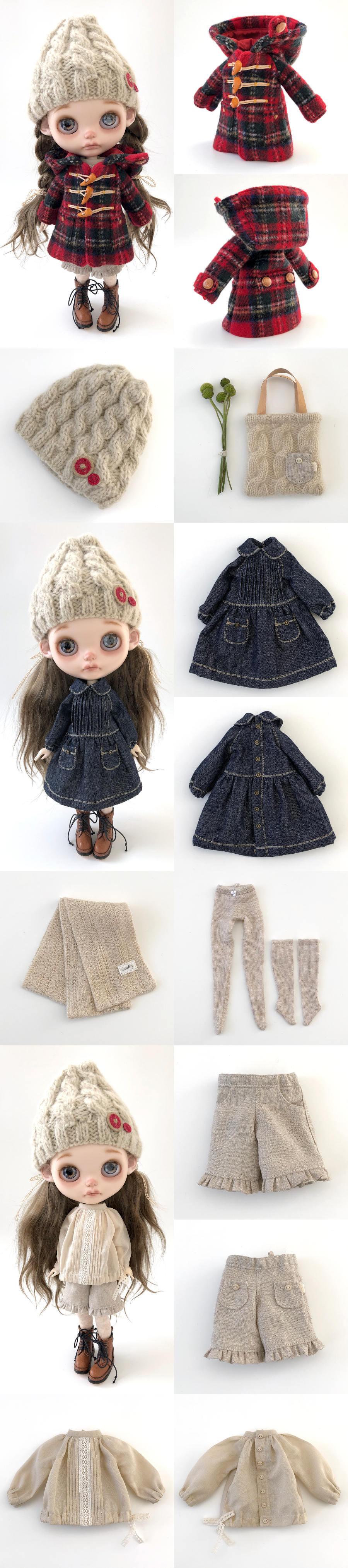 *lucalily * dolls clothes* Stewart Royal Duffle Coat Set *_d0217189_22585747.jpeg