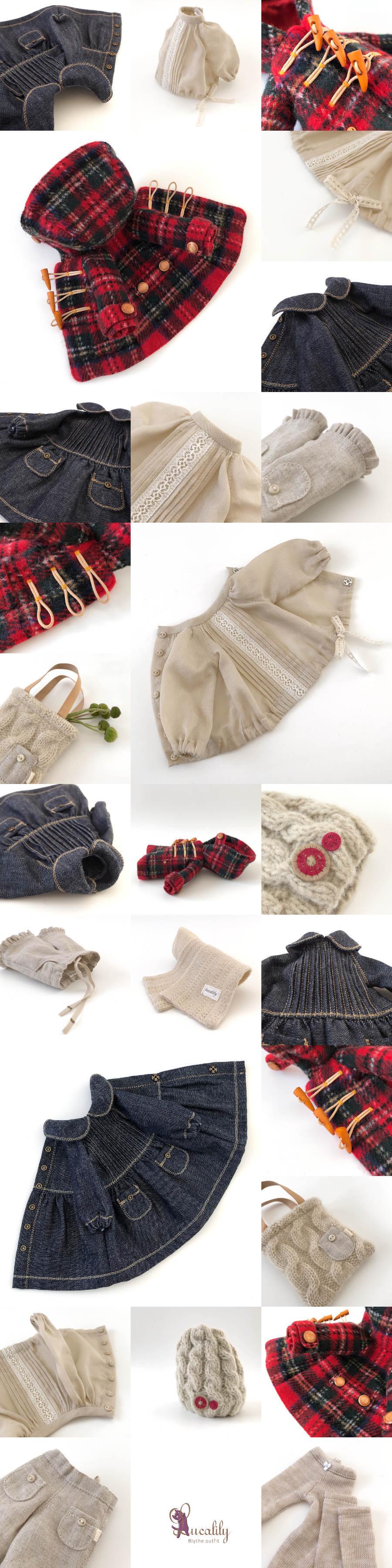 *lucalily * dolls clothes* Stewart Royal Duffle Coat Set *_d0217189_22590060.jpg