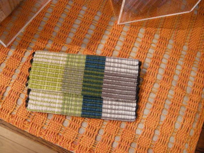 TEXTILE SCAPE Yukka・TEXTILE design + weaving テキスタイル作家・大澤由夏展_a0089420_10513671.jpg