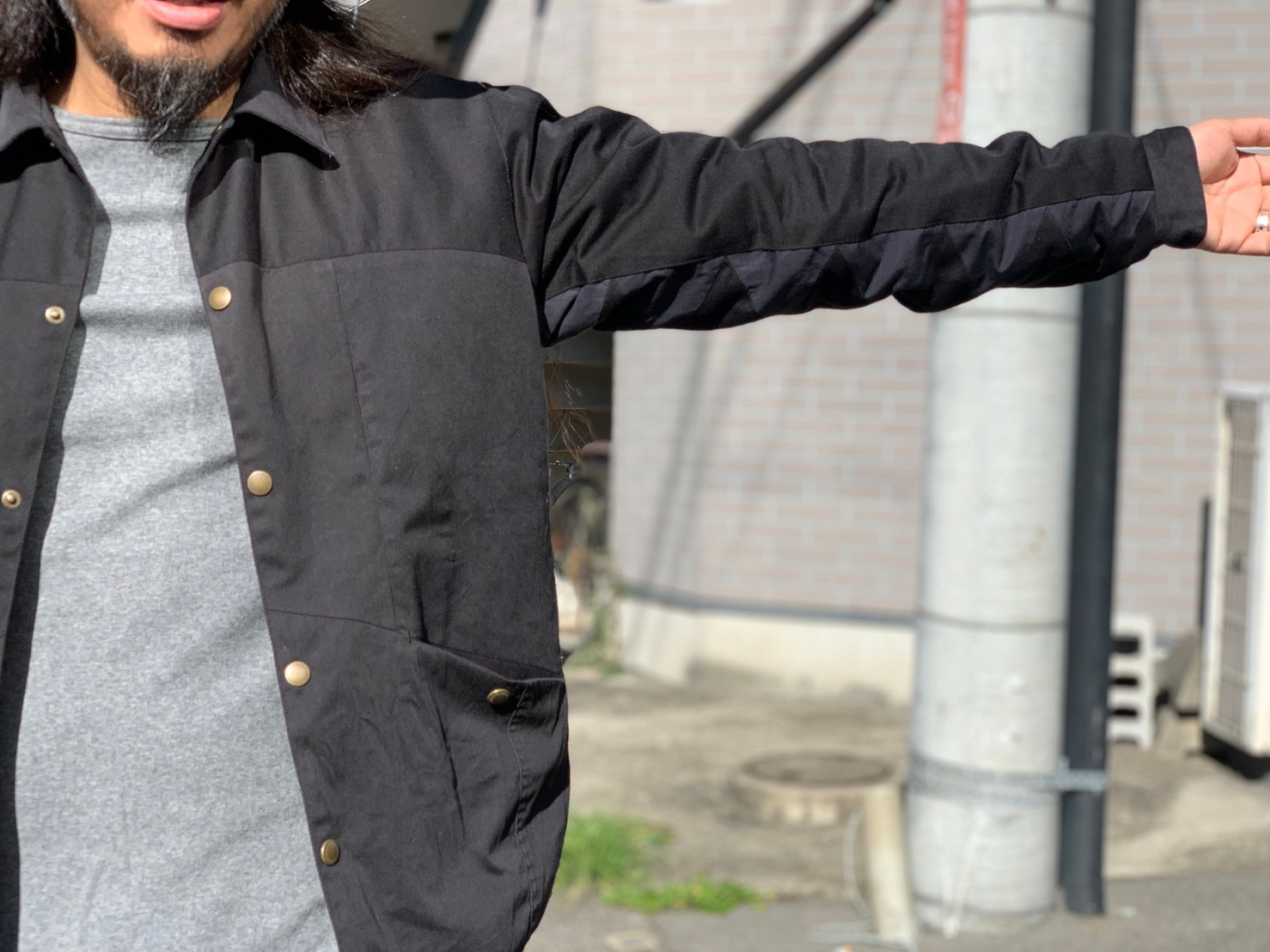 "\""Nasngwam.\""<<BARBARIAN JACKET(BLACK)>>Style~NORI~_c0167336_14445613.jpg"