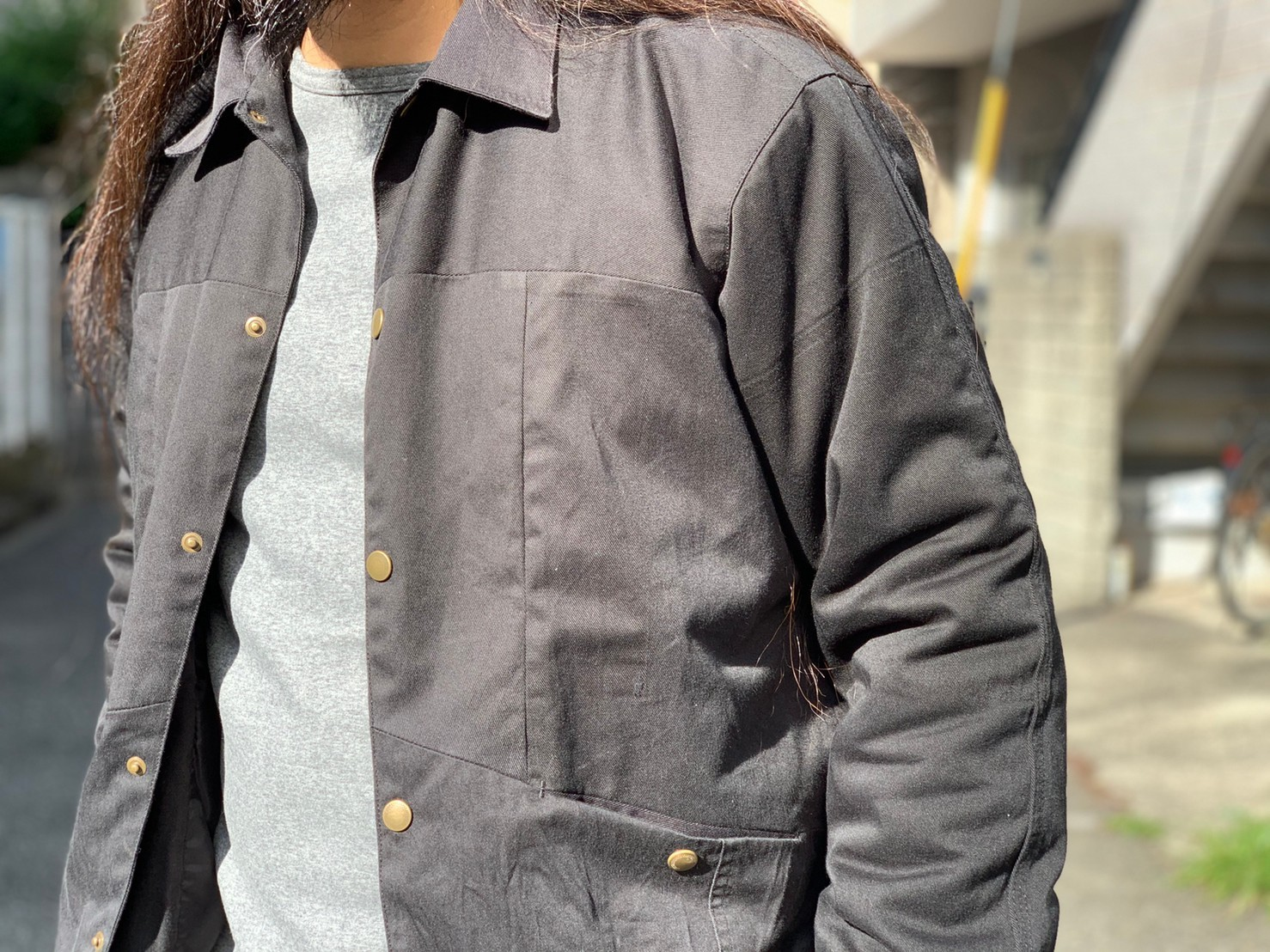 "\""Nasngwam.\""<<BARBARIAN JACKET(BLACK)>>Style~NORI~_c0167336_14450636.jpg"