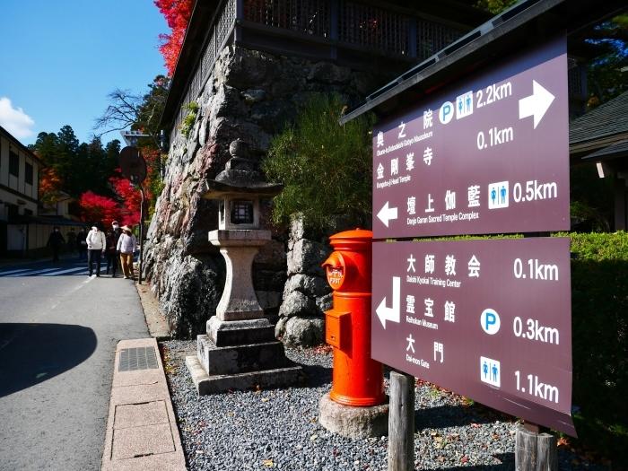 紅葉の高野山へ 5 蛇腹道の紅葉 2020-11-18 00:000_b0093754_22353572.jpg