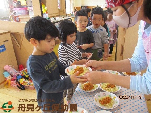 【にじ組】 セレクト給食 がありました_f0367159_16095410.jpg
