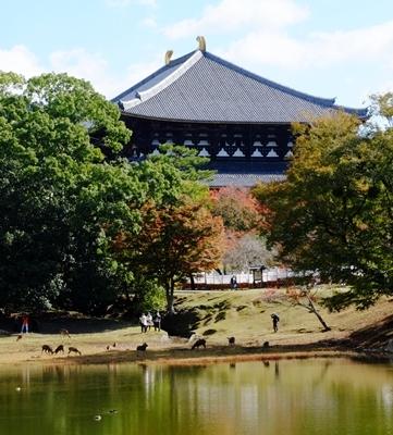 新しい広角レンズで奈良の紅葉を撮ってきました♪_b0194861_22000947.jpg