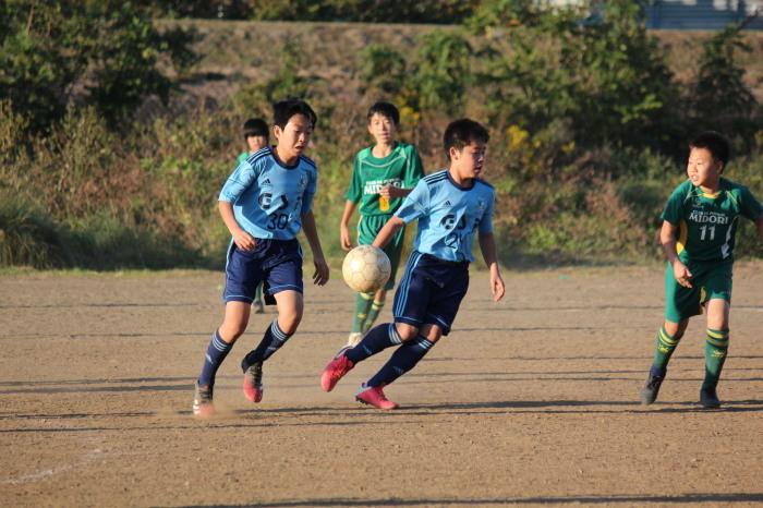 10月31日(土)U-13TRM FC緑_a0109314_22511250.jpg