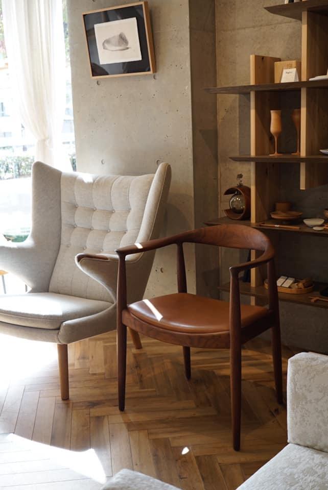 the chair 限定展示中 @LIFESTYLE SHOP COKU_b0115615_14592302.jpg