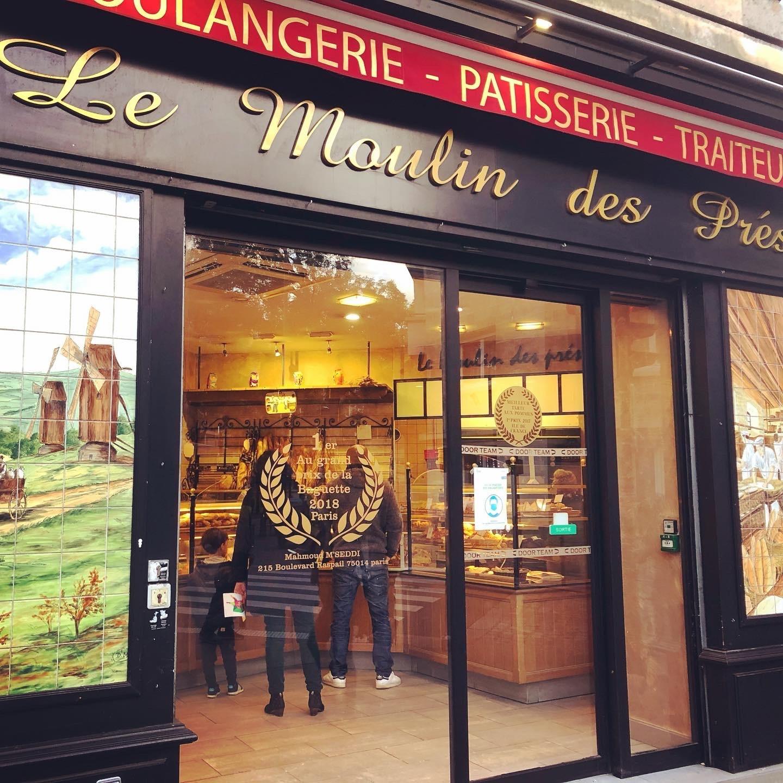 ロックダウンのパリ歩き、そしてパリ最優秀バゲットのマームッド・メセディさんのお店_a0231632_18232146.jpeg