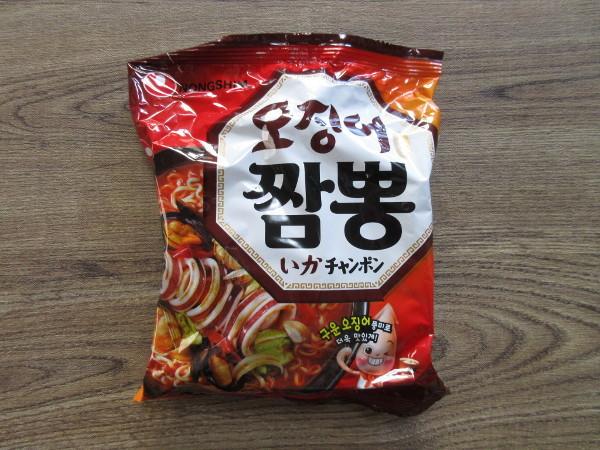 【農心】いかチャンポン(袋麺)_c0152767_18045640.jpg