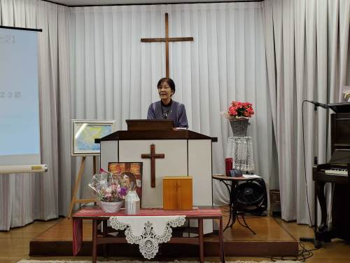 2020.11.8在天者祈念礼拝・墓前礼拝・納骨式_e0341971_14460993.jpg