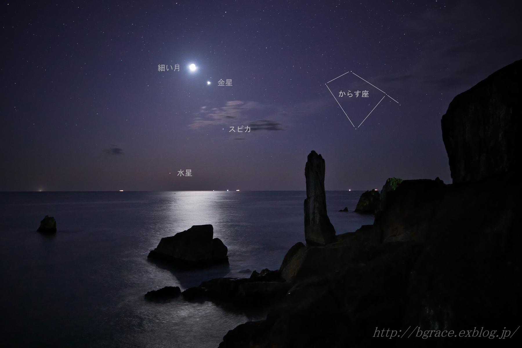 細い月と惑星たち_b0191074_20522961.jpg