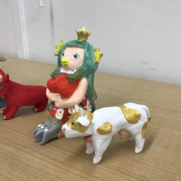 【創作人形講座~プロの博多人形師が教えます~】生徒さんの作品です♪_c0357605_16424166.jpeg