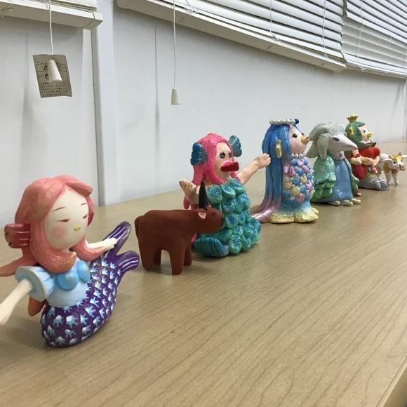 【創作人形講座~プロの博多人形師が教えます~】生徒さんの作品です♪_c0357605_16424198.jpeg