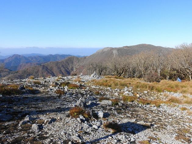 草紅葉の藤原岳天狗岩を歩く  SOTA#JA/SI-007_f0073587_17165095.jpg