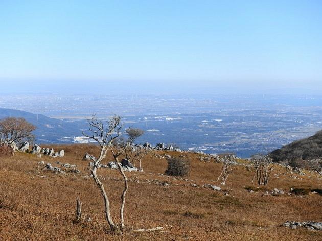 草紅葉の藤原岳天狗岩を歩く  SOTA#JA/SI-007_f0073587_18484222.jpg