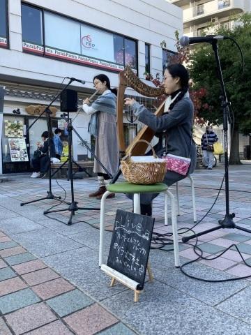 演奏記録:11月15日(日)「第96回イタミ朝マルシェ」_b0205592_16585766.jpeg
