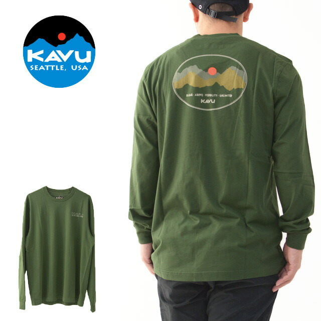 KAVU [カブー] LS Define Range [19811106] LS ディファイン レインジ・長袖Tシャツ・ロンT・MEN\'S _f0051306_15104248.jpg