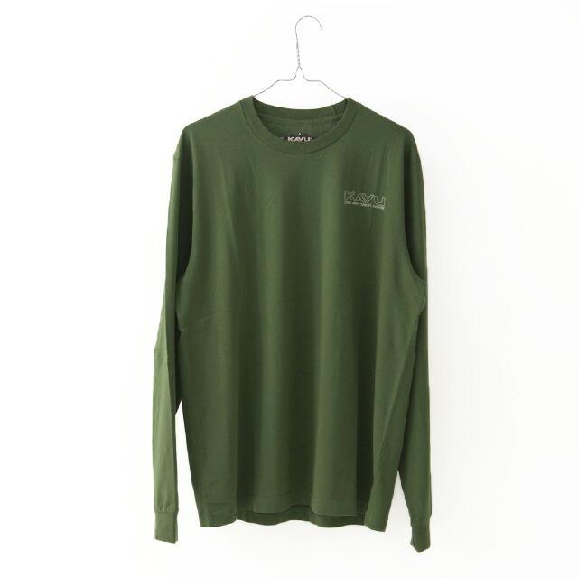 KAVU [カブー] LS Define Range [19811106] LS ディファイン レインジ・長袖Tシャツ・ロンT・MEN\'S _f0051306_15104282.jpg
