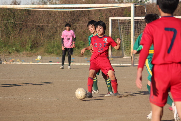 U-14練習試合_a0109314_23360136.jpg