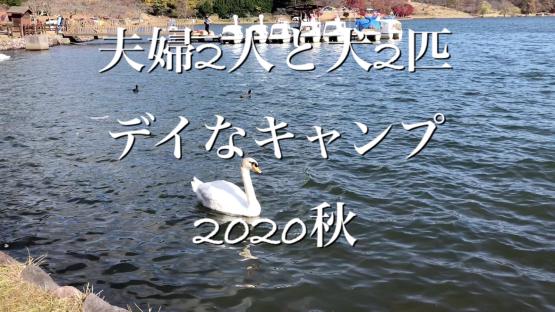 夫婦2人と犬2匹・デイなキャンプin志高湖_a0395319_20430417.jpg
