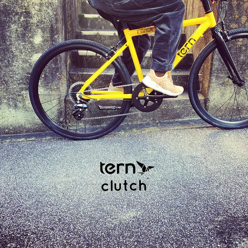 2021 tern ターン 「 CLUTCH クラッチ 」 クロスバイク 650c おしゃれ自転車 自転車女子 自転車ガール クラッチ ターン rojibikes クレスト_b0212032_17253722.jpeg