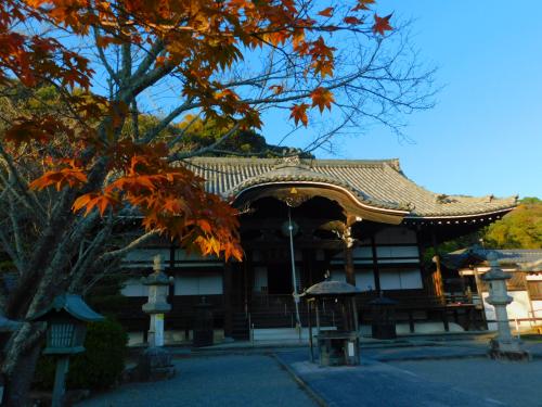 根来寺へ紅葉狩り_e0136066_23434251.jpg