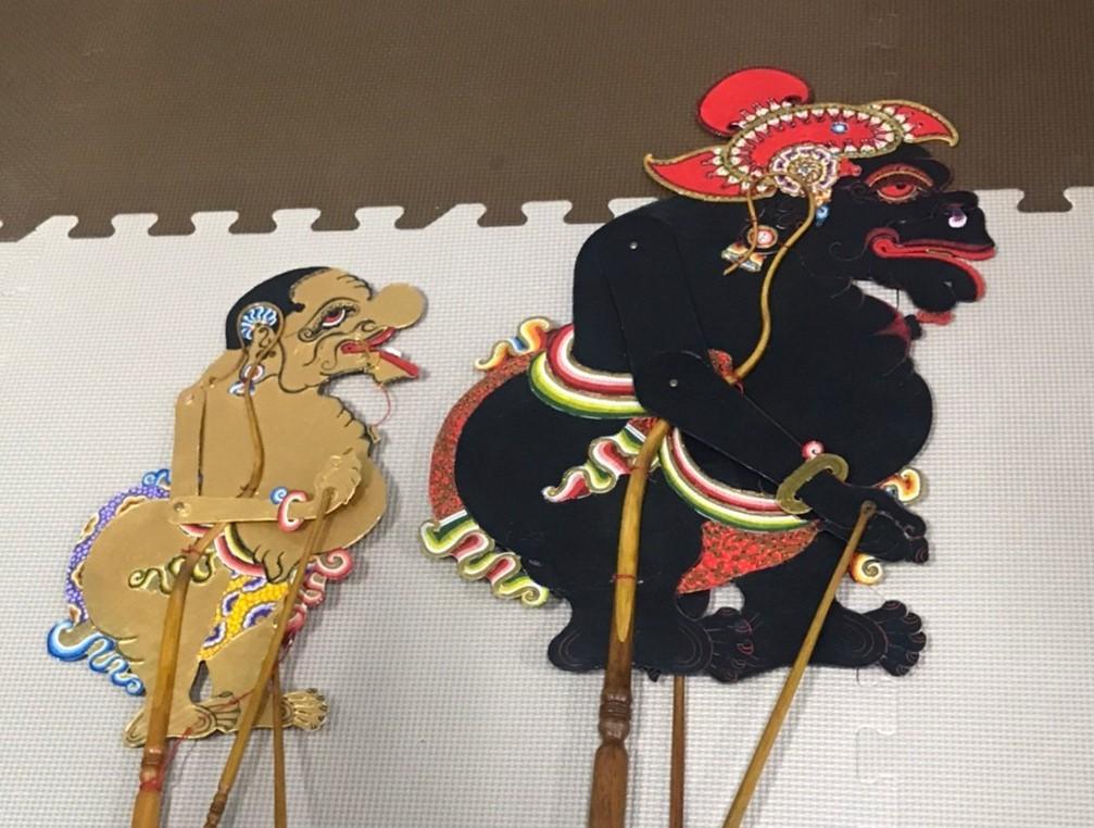 ワヤンの歴史文化を知るレクチャー&ジャワバリ ハイブリッドワヤン_e0017689_16444077.jpg
